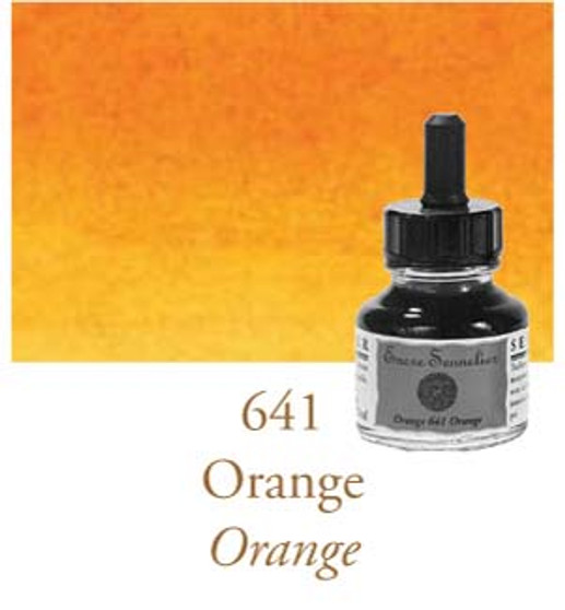 Sennelier Drawing Ink 30ml Orange
