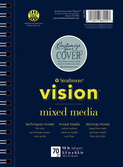 """Strathmore Vision Mixed Media 70 Sheet Pad 5x8"""""""