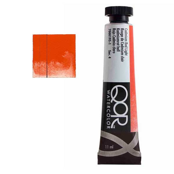 QoR Watercolor 11ml tube Cadmium Red Light