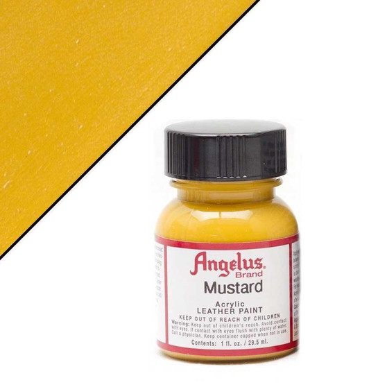 Angelus Leather Paint 1oz Mustard