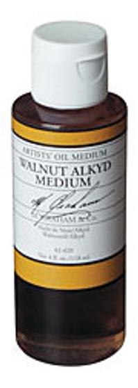 M. Graham Walnut Oil Alkyd Medium 32oz