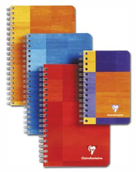 Clairefontaine Pad Wire-Bound Open-Sided 3x4 Ruled