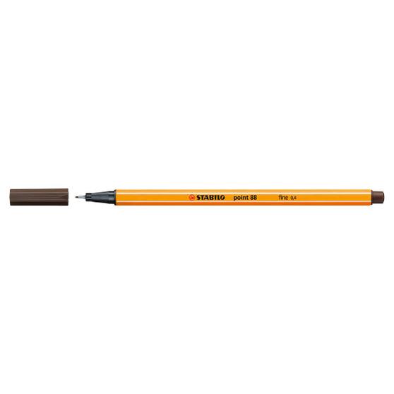 Stabilo Pen 88 Fineliner Umber
