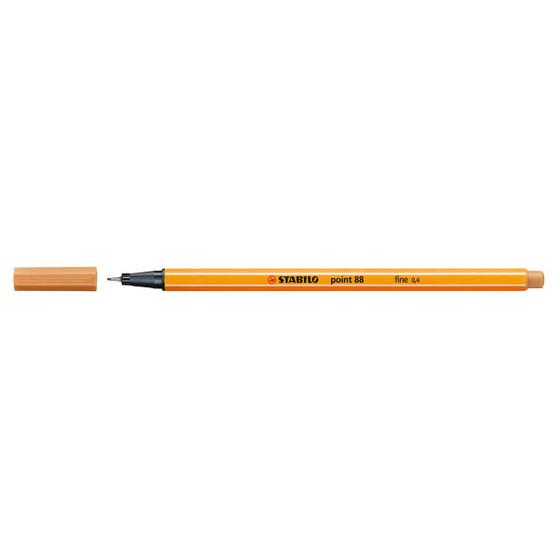 Stabilo Pen 88 Fineliner Dark Ochre