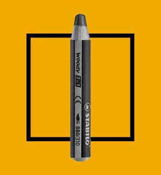 Stabilo Woody 3-In-One Watercolor Pencil Orange
