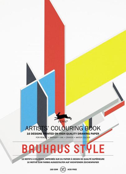 Pepin Colouring Book Bauhaus Style