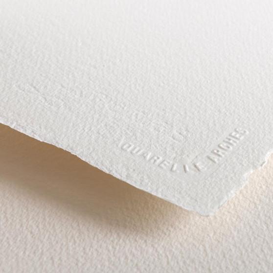 "Arches 100% Cotton Watercolor Paper 140lb Cold Press 22x30"" Sheet"