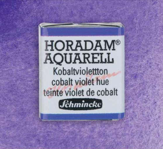 Schmincke Horadam 1/2 Pan Watercolor Cobalt Violet Hue - 473