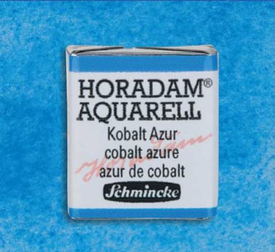 Schmincke Horadam 1/2 Pan Watercolor Cobalt Azure - 483