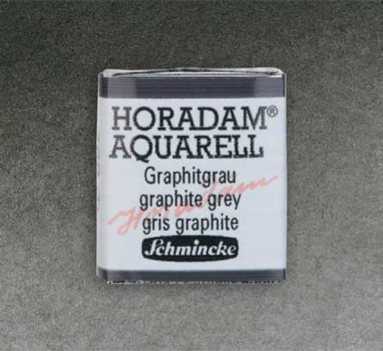 Schmincke Horadam 1/2 Pan Watercolor Graphite Grey - 788