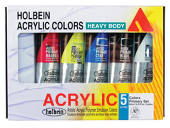 Holbein Acrylic 5 Color Mixing Set