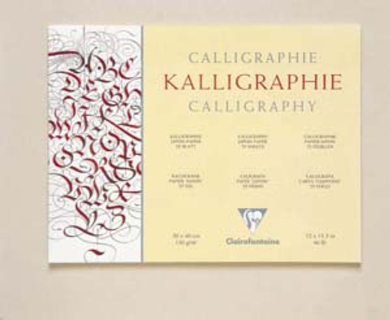 Clairefontaine Calligraphy Pad 9.5x12