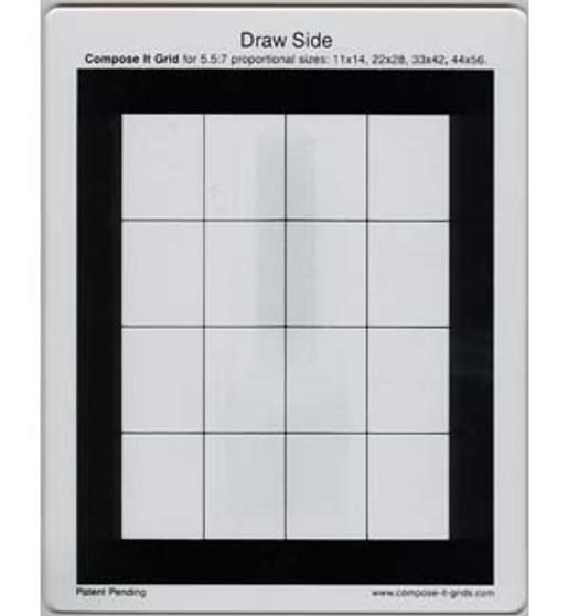 Compose It Grid 5.5x7 Proportion