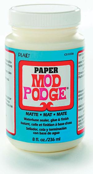 Mod Podge for Paper Matte Finish 8oz Jar