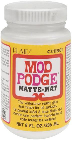Mod Podge Matte Finish 8oz Jar
