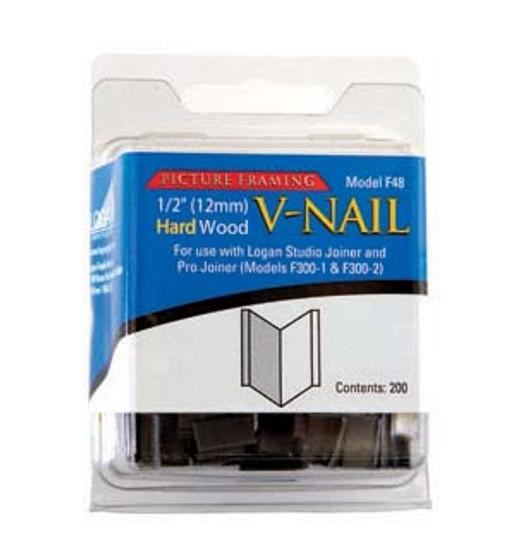 Logan Framing Accessoryv-Nail 1/2-Inch Hard Wood 200pk