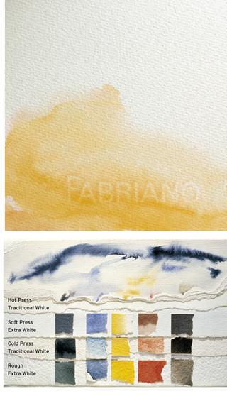 Fabriano Artistico Watercolor Paper 22x30 140lb Cold Press Traditional White