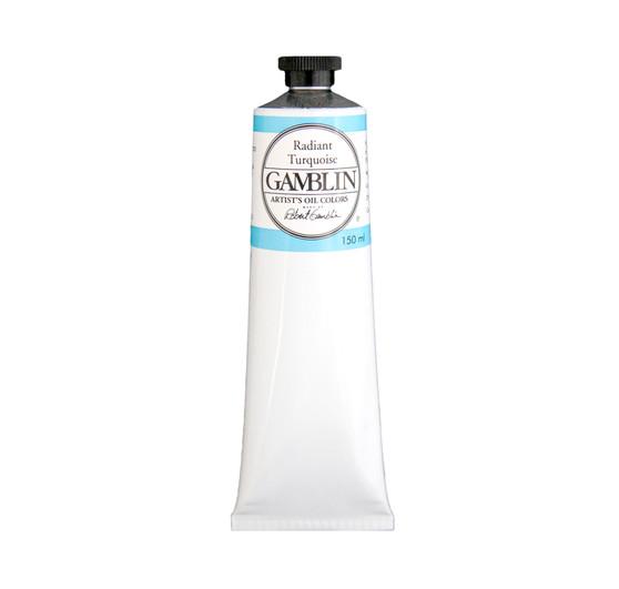 Gamblin Artist Oil 150ml Radiant Turquoise