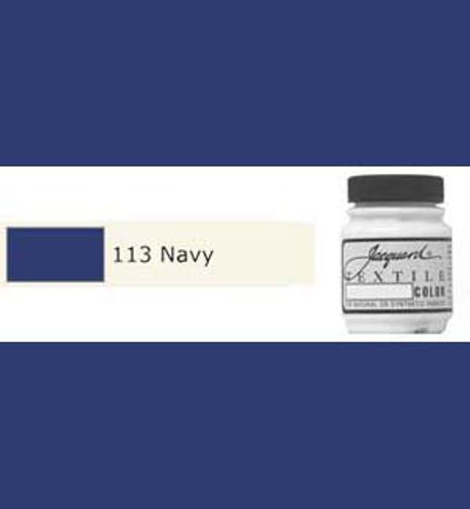 Jacquard Textile Paint 70ml Navy
