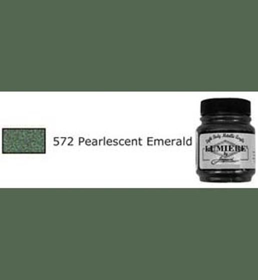 Jacquard Lumiere 2.25oz 572 Pearl Emerald Green