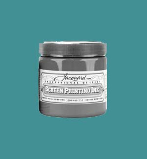 Jacquard Screen Printing Ink Acrylic 16oz Turquoise