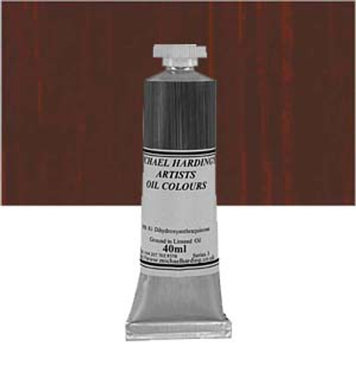 Michael Harding Artist Oil Colour 40ml Red Umber
