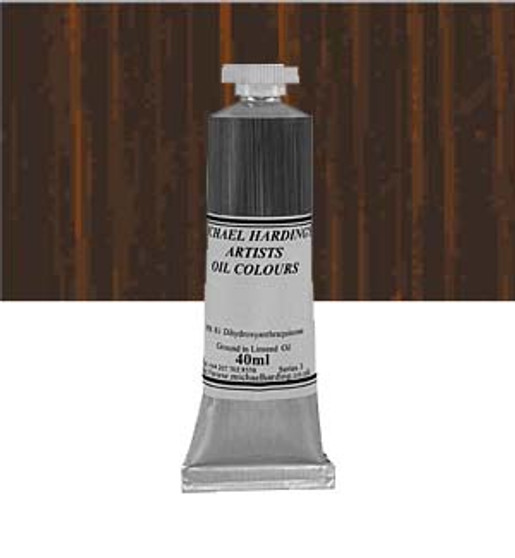 Michael Harding Artist Oil Colour 40ml Burnt Sienna