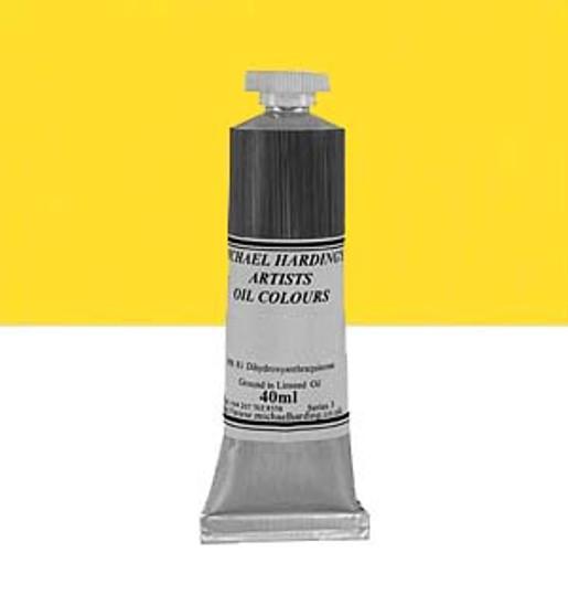 Michael Harding Artist Oil Colour 40ml Cadmium Yellow Lemon