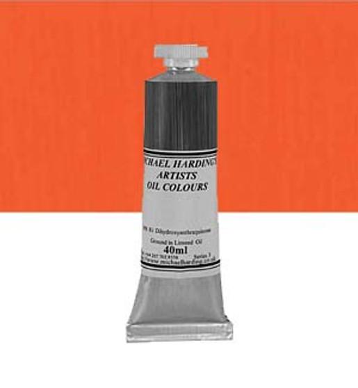 Michael Harding Artist Oil Colour 40ml Cadmium Orange