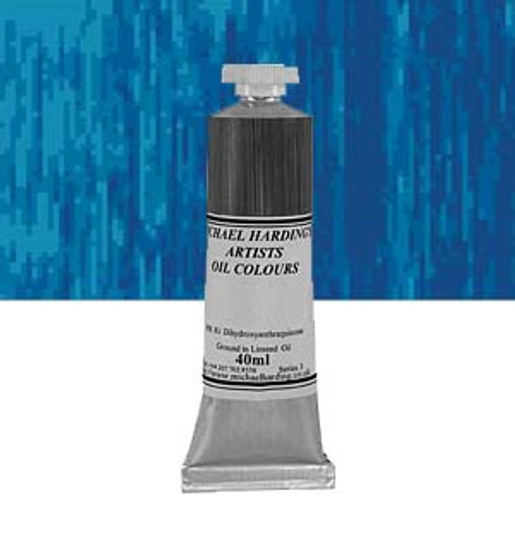 Michael Harding Artist Oil Colour 40ml Cerulean Blue