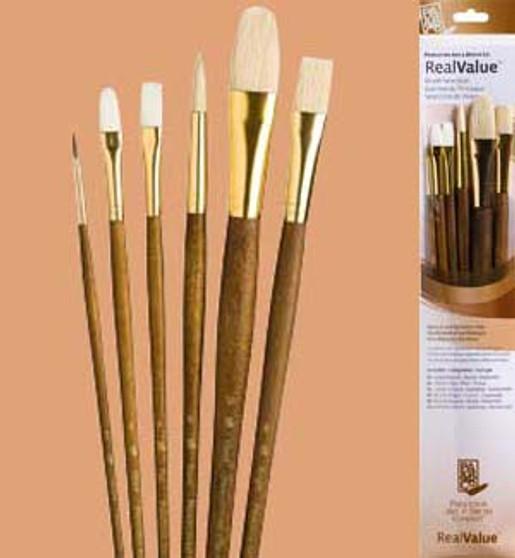 Princeton RealValue Brush Pack Sable 6pk