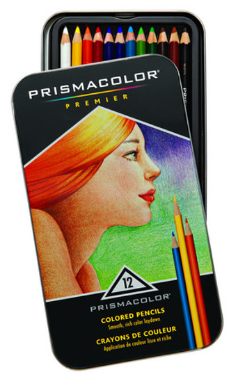 Sanford Prismacolor Premier 12 Color Set