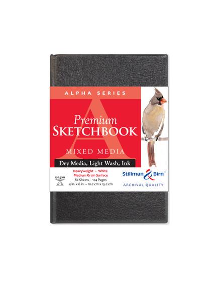 Stillman & Birn Alpha Series Hardbound Sketch 150g 4x6