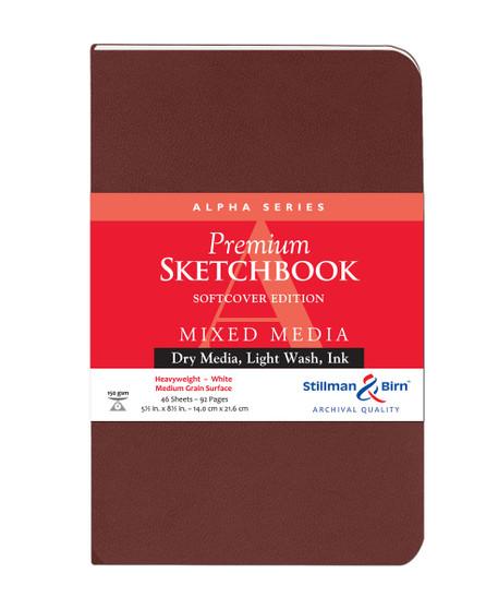 Stillman & Birn Softcover Sketchbook Alpha Series 150g 5.5x8.5