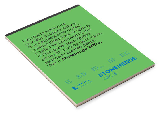 Stonehenge Pad Drawing 15sh 9x12