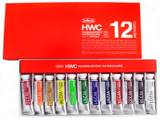 Holbein Watercolor Set W401 12colors 5ml