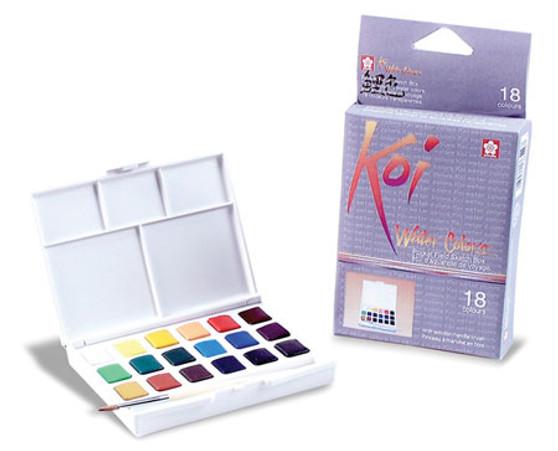 Sakura Koi Pocket Watercolor paint set of 18