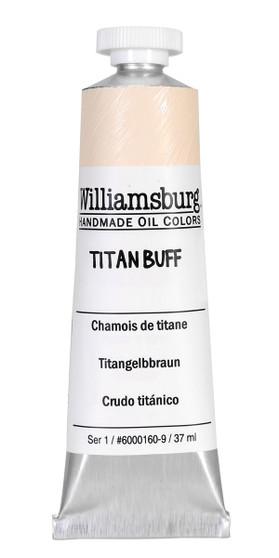 Williamsburg Oil Paint 37ml Titan Buff