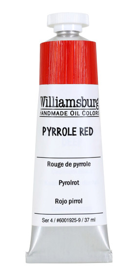 Williamsburg Handmade Oil Paint 37ml Pyrrole Red