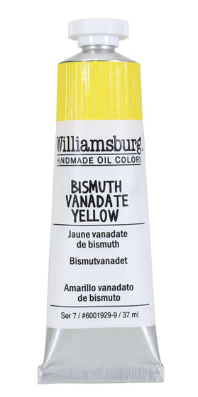 Williamsburg Handmade Oil Paint 37ml Bismuth Vanadate Yellow