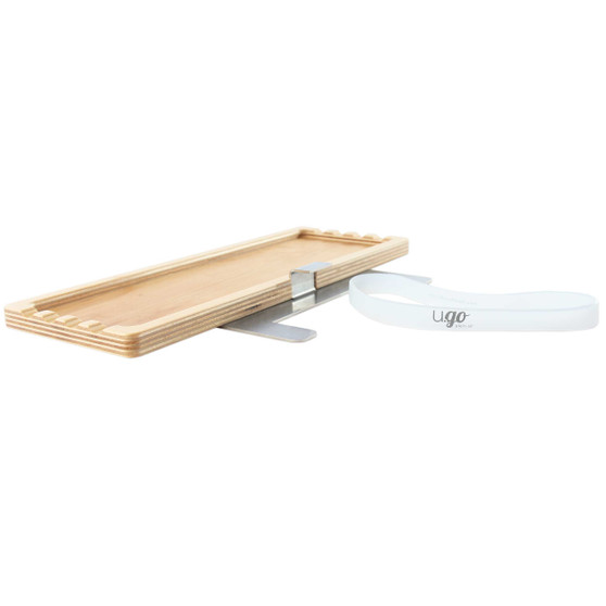 New Wave U.Go Plein Air Anywhere 4x11 Side Tray for Large Pochade Box
