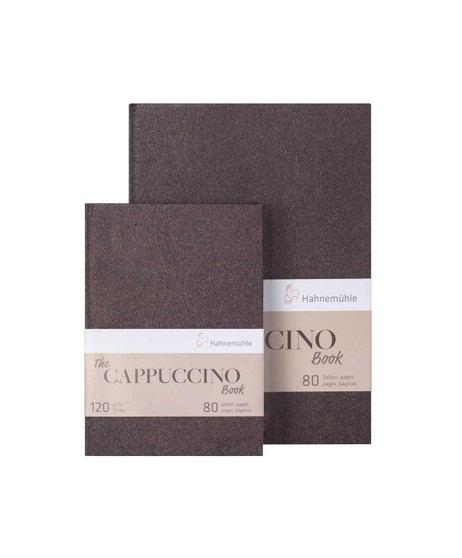 """Hahnemuhle Cappuccino Book 6x8"""" 40 Sheets"""