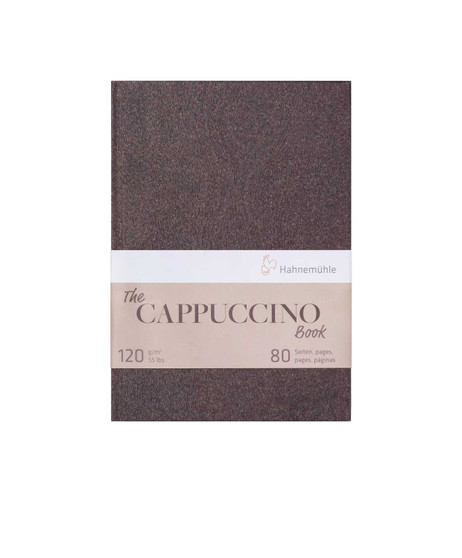 """Hahnemuhle Cappuccino Book 8x12"""" 40 Sheets"""