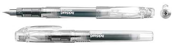 Platinum Preppy Fountain Pen 0.3 Crystal