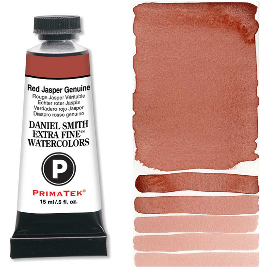 Daniel Smith Extra-Fine Watercolor 15ml 2019 Primatek Color Red Jasper Genuine