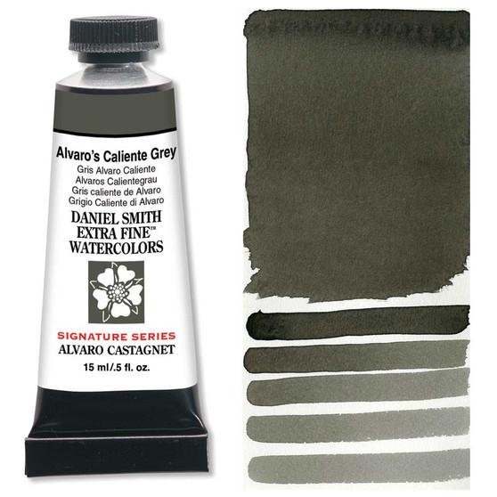 Daniel Smith Extra-Fine Watercolor 15ml 2019 Color Alvaro's Caliente Grey
