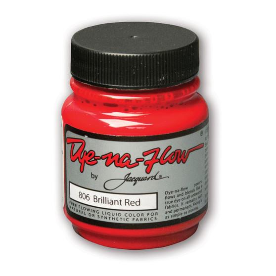 Jacquard Dye-Na-Flow 2.25 fl oz Brilliant Red
