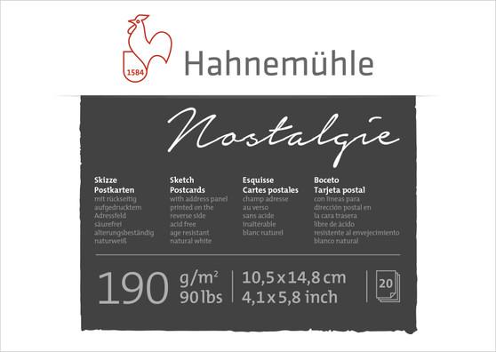 Hahnemuhle Nostalgie Postcards 4x6 20 Sheets