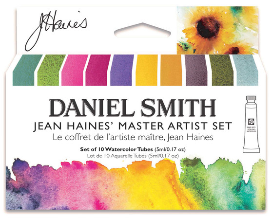 Daniel Smith Jean Haines Master Set of 10 Watercolors