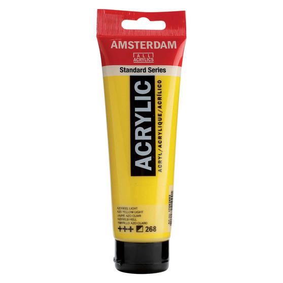 Amsterdam Acrylic 120ml Tube Azo Yellow Light